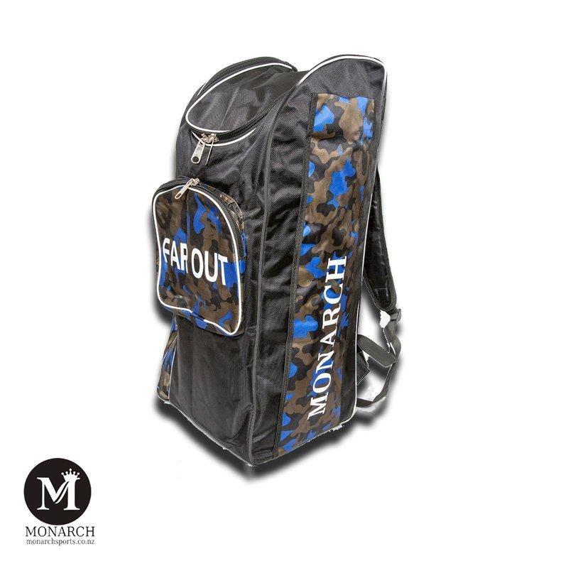 Far-out cricket kit bag